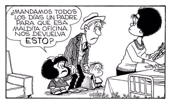 Mafalda-papá